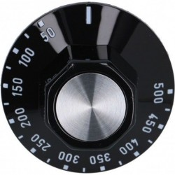 Manopola Nera 50mm 50-500° C3444187