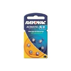 Batterie acustiche 675 (zinco/aria) mercury free