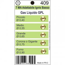 Ugelli 5MA GPL adattabile NARDI