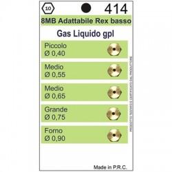 Ugelli 8MB GPL adattabile REX