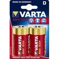 Pila Alcalina Max Tech D