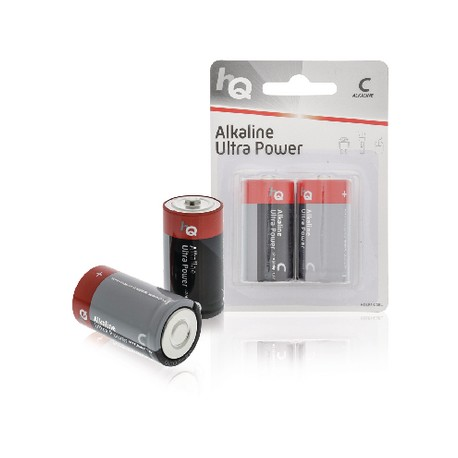 Batteria alcalina C HQ Pacco 1