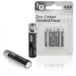 Batteria AAA HQ Zinco-Carbone Pacco da 4