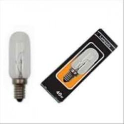 Lampadina a Cilindro per cappe E14 40W 230V