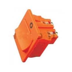 Interruttore bpolare 23x19mm colore arancione VK120/121/122