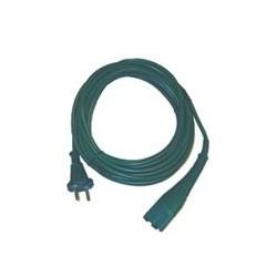 Cavo alimentazione di colore verde 10mt 2x0,75mm spina Italia adattabile modelli VK130/131