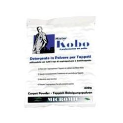 Detergente in polvere pulizia tappeti in scatola contenente 6 buste 420gr