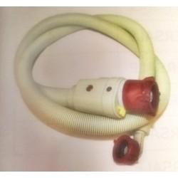 Tubo Carico Corrugato 2mt con Pipa e Valvola di sicurezza